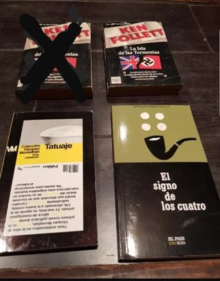Libros de bolsillo, a tres euros la unidad