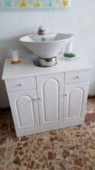 Armario para lavabo 72cm. ancho