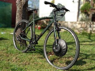 Rueda eléctrica bicicleta