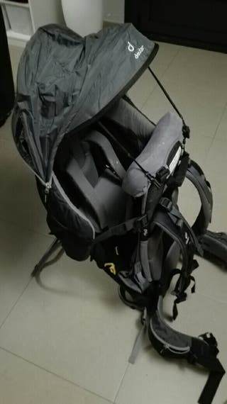 Alquiler mochila portabebes monte