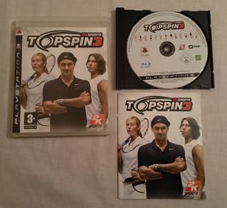 Vendo Top Spin 3 para PlayStation 3 PS3