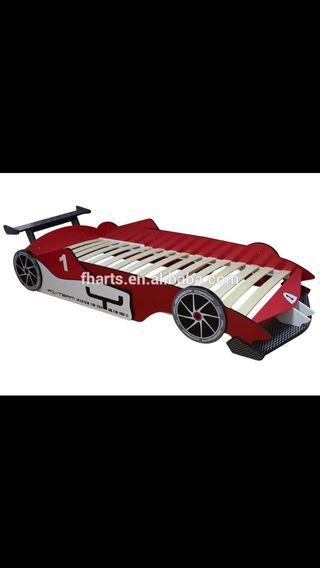 Cama coche formula 1
