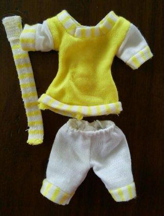 Chabel navy amarillo