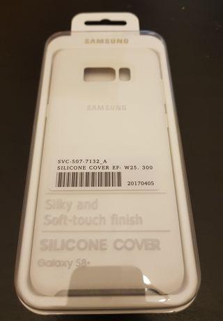 funda silicone cover samsing galaxy s8+ plus