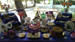 Candy bar (mesas dulces)