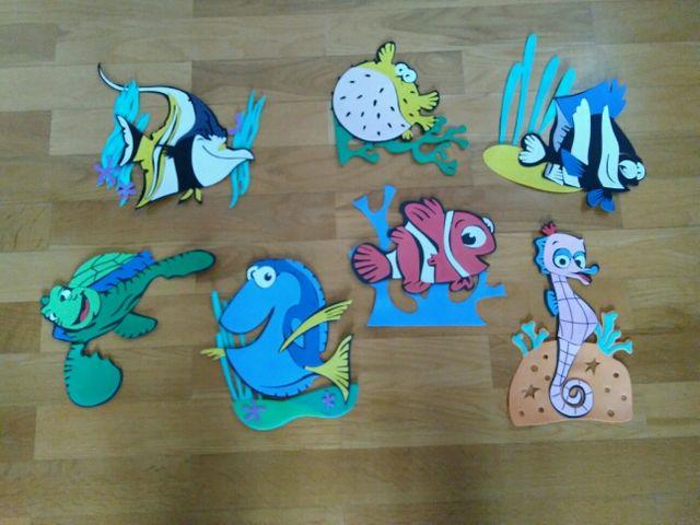 Decoración Completa Nemo Goma Eva De Segunda Mano Por 3 En