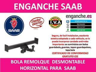 ENGANCHE SAAB BOLA REMOLQUE