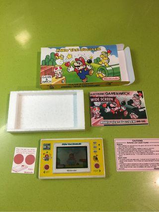 Game watch Mario the Juggler Nintendo,antiguo,juego,años 80,casio,sega,bandai,