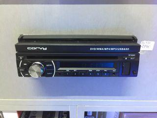 Radio caset pantalla