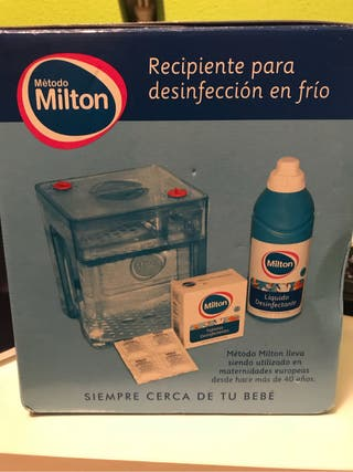 Recipiente para desinfección en frío bebe(Milton)