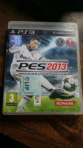 juego ps3 PES 2013