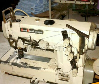 Máquina coser Remalladora, hace tira y Bora.