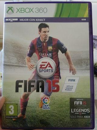 Juego Xbox 360 FIFA 15