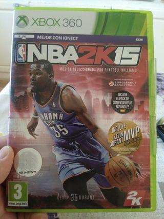 Juego Xbox 360 NBA 2K15