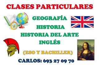 Clases particulares en pueblos de Huelva y Sevilla