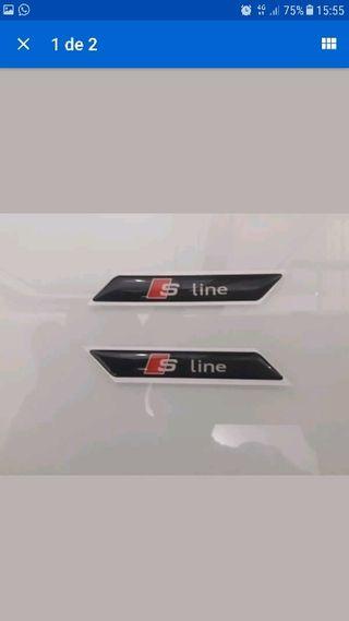 Emblema SLine Audi A1 A2 A3 A4 A5 A6 A8
