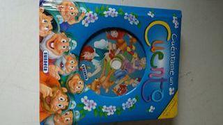 Libro cuentos con CD