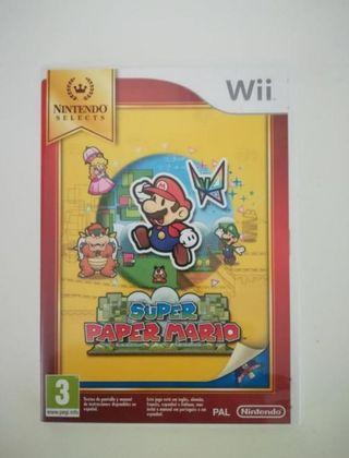 Super paper Mario(WII)