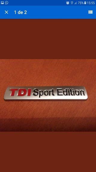 Emblema TDI Passat Golf Polo Bora Jetta
