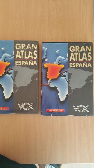 ENCICLOPEDIA Y ATLAS VOX 6 LIBROS