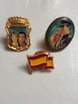 3 Pin Lote Reyes de España