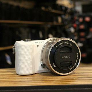 cámara sony a5000 blanca
