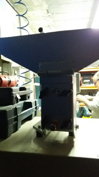 maquina para machacar aceitunas