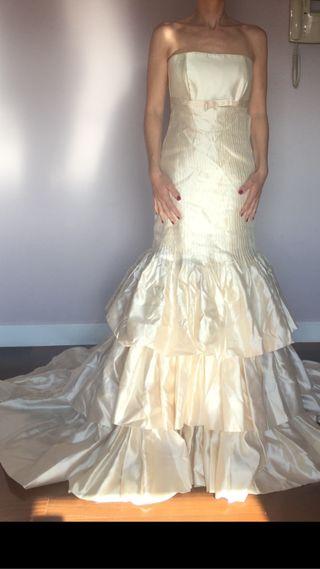 vestido de novia 38 corte sirena a estrenar