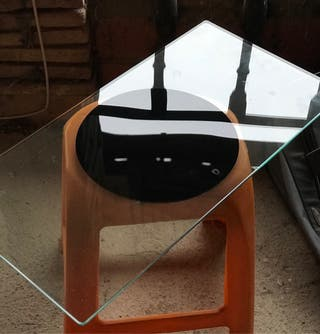 Giratuto de cristal, diseño.