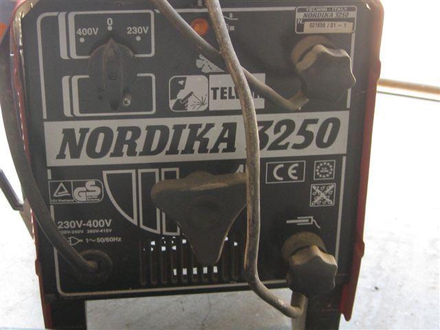 SOLDADURA NORDIKA 3250 PROFESIONAL