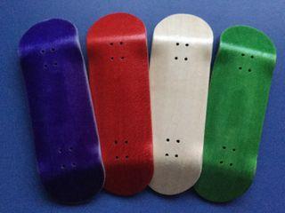 Fingerboarding deck