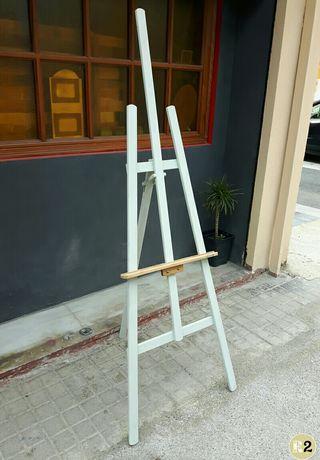 Caballete Grande Pintura Menta Chalk