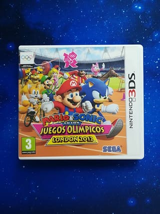 Mario and Sonic Olimpic games 2012 (3DS)