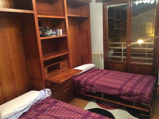 Armario con 2 camas