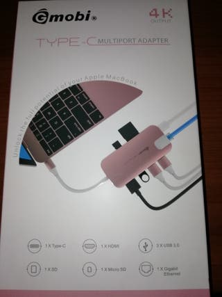 Multiport USB TIPO C