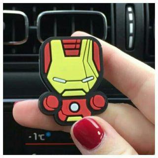 A estrenar.Ambientador de coche IRON MAN Marvel