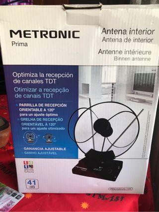 Antena para interior amplifica