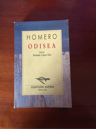 Libro Homero Odisea