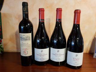 Vino Rioja Ribera del Duero exclusivo