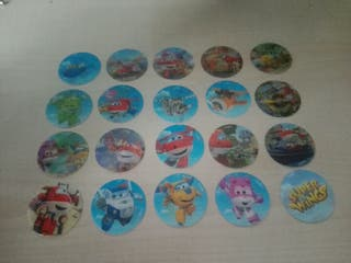 Tazos SUPER WINGS Jumpers