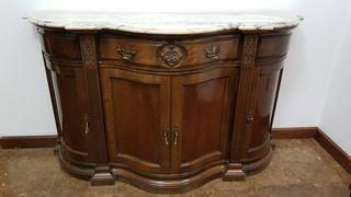 Mueble aparador entrada vintage de segunda mano por 375 en madrid en wallapop - Mueble entrada vintage ...