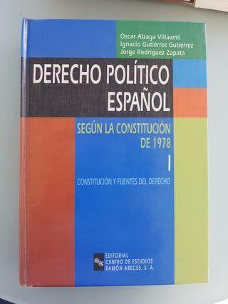 Libro Derecho Político Español