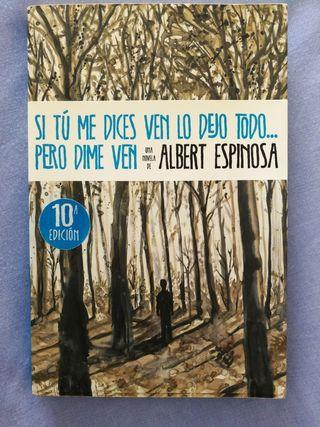 Libro, Albert Espinosa