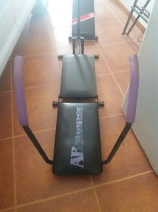 step fitness y tabla de abdominales