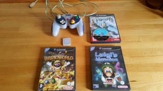 Game cube lote