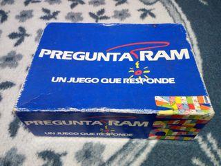 PREGUNTA RAM - JUEGO DE MESA - COMPLETO - AÑOS 80