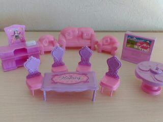accesorios casa de muñecas