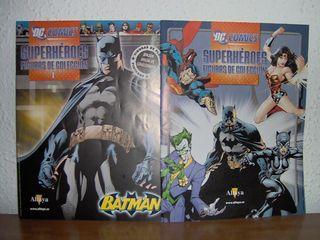 Fascículos figuras de plomo Marvel y DC