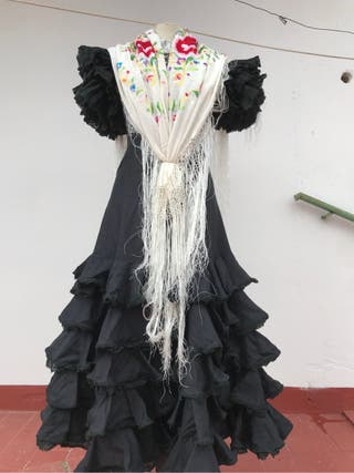 Traje vestido gitana flamenca 36,38,40