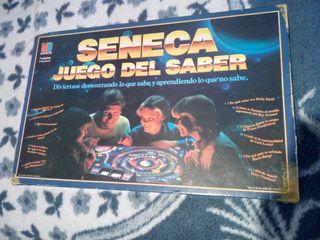 SENECA JUEGO DEL SABER - MB -JUEGO DE MESA AÑOS 80